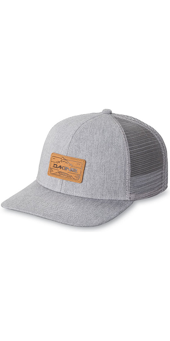 577d309f2 Dakine Peak zu Peak Trucker Hat Heather Grey 10001788