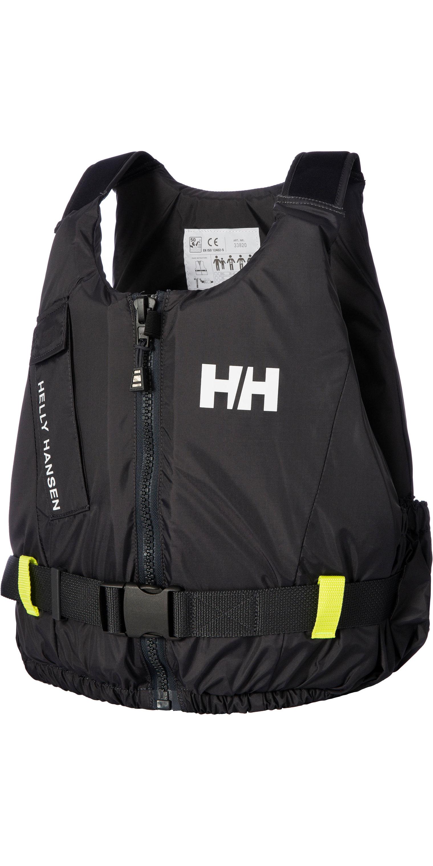 2019 Helly Hansen 50n Rider Vest / Zwemvest 33820 - Ebbenhout