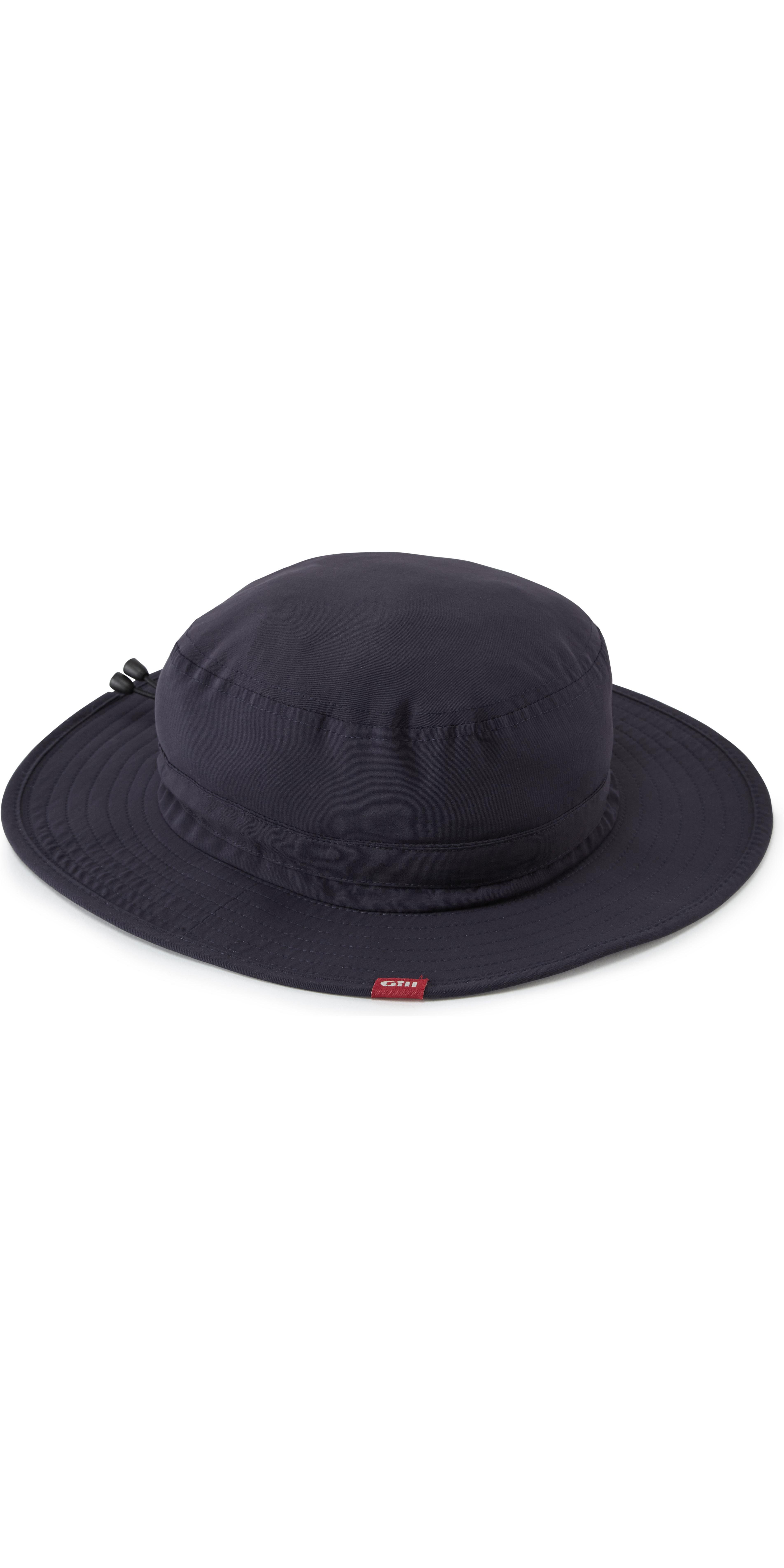 raccolto New York qualità autentica 2019 Cappello Da Sole Technical Vela Gill Navy 140