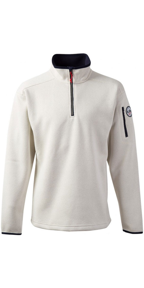 2018 Gill Mens Knit Fleece in Sailcloth 1491