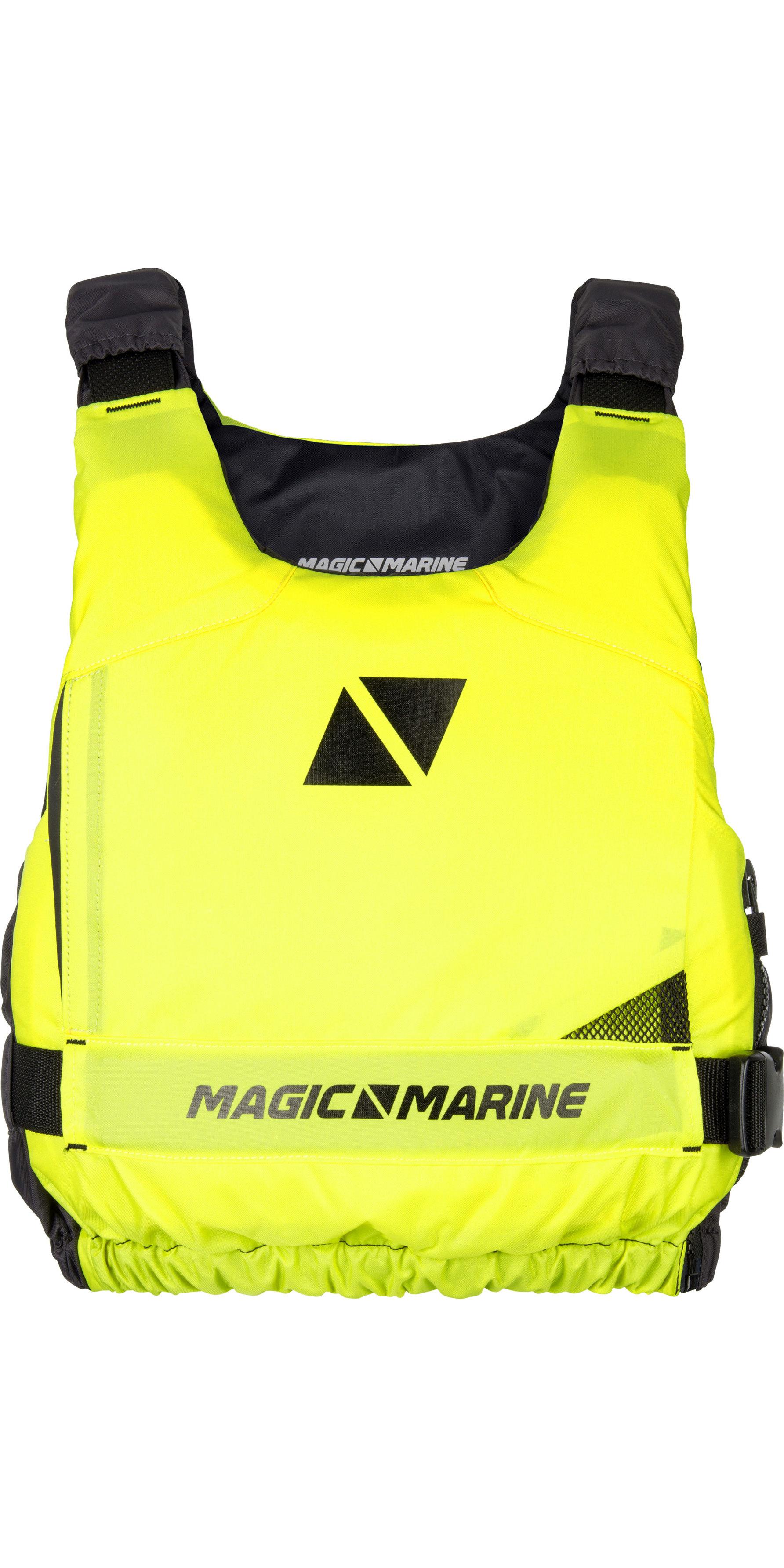 2019 Magic Marine Ultimate Drijfhulpmiddel Met Rits Aan De Zijkant Flash Geel 180055
