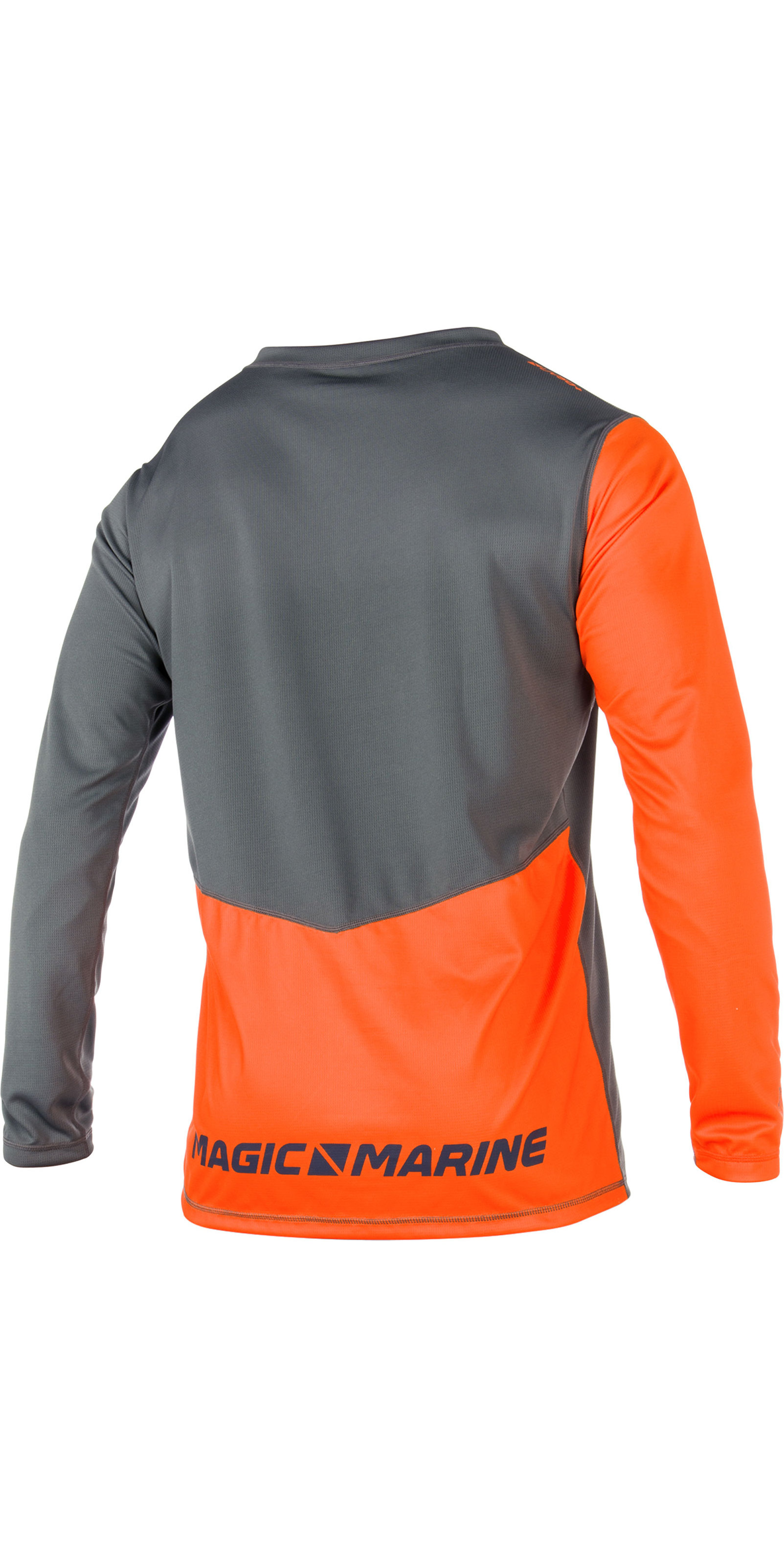 2019 Magic Marine Cube Top De Manga Larga De Dry Rápido Naranja 180061