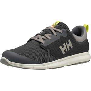 2020 Helly Hansen Feathering Zapatillas De Vela 11572 - Carbón / ébano