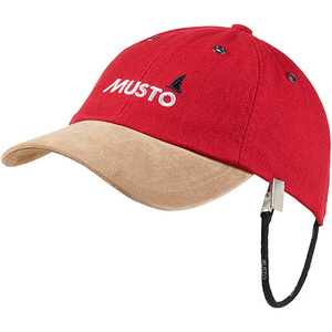 2020 Musto Evo Original Crew Cap in True Red AE0191