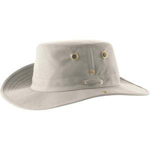2020 Tilley T3 Snap-up Brimmed Hat - Naturlig / Grøn