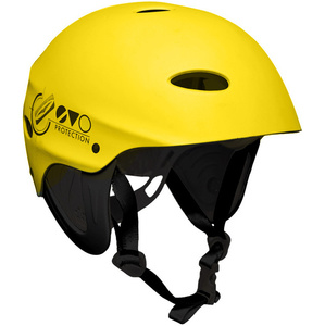 2021 Gul Evo Watersports Casco Amarillo Ac0104-b3