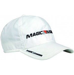 2020 Magic Marine Sailing Snap Back Cap White 160590