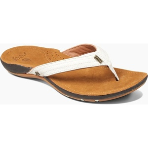 2019 Reef Womens Miss J-Bay Sandals / Flip Flops Tan / White RF001241