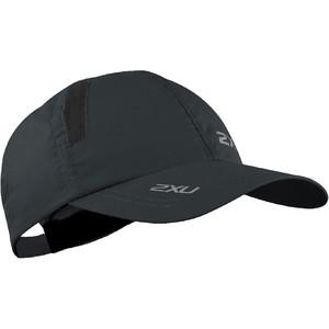 2019 2XU Run Cap Black UQ5685f