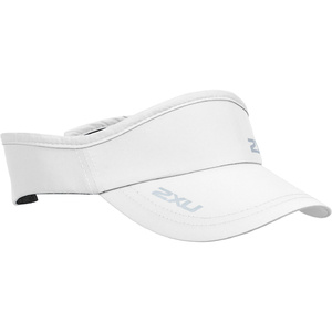 2020 2XU Run Visor White UQ5686f