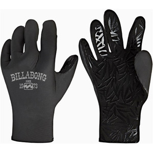 2019 Guantes De Neopreno Billabong Furnace Synergy 2mm Mujer Negro Q4gl15