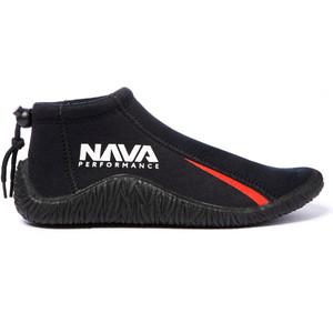 2020 Nava Performance Baixo-corte 3mm Botas Navabt01 Neoprene - Preto