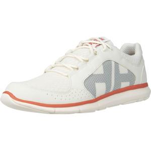 2021 Helly Hansen Ahiga V4 De Las Mujeres Hydropower Zapatos De La Navegación - 11583 De Blanco / Rosa Concha