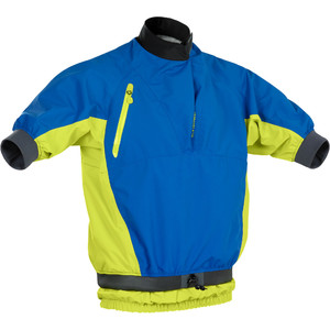 2021 Palm Dos Homens Mistral Curto Sleece Kayak Jaqueta 12508 - Cobalto / Citrus