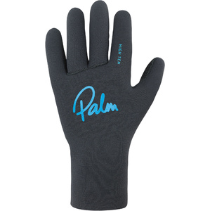 2020 Palm Grab High Five Guanti in neoprene 12330 - Jet Grey