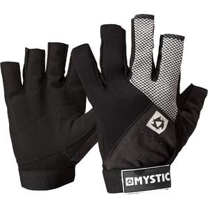 2021 Mystic Junior Udslæt Korte Fingerhandsker 130460 - Sort