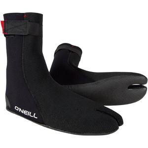 2020 O'neill Heat Ninja 3mm Split Toe Boot Sort 4786