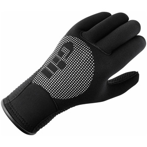 2021 Gill 3mm Neoprene Winter Gloves in BLACK 7672