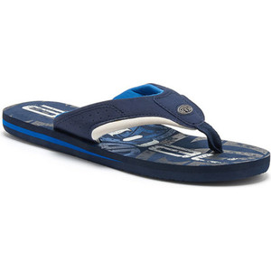 Animal Jekyl Logo Junior Chanclas Para Niño Fm8sn600 - Snorkel Blue