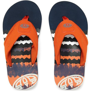 Animal Junior Boys Jekyl logo Flip Flops DARK NAVY FM8SN600