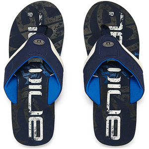 Animal Jekyl Logo Junior Boys Flip Flops Schnorchelblau Fm8sn600