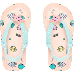 2020 Animal Toddler Girls Doodle Flip Flops / Sandals FM0SS806 - Apricot Blush Pink