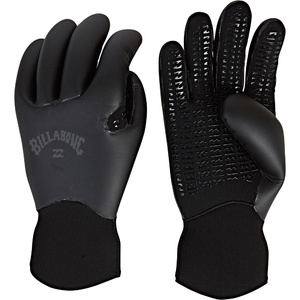 2019 Billabong Furnace Ultra 3mm Luvas De Neoprene Preto Q4gl34