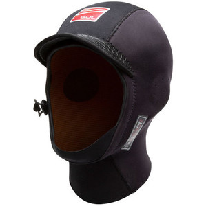 2021 Gul Herren 3mm SDL Peaked Surf Hood Ho0312-B9 Schwarz