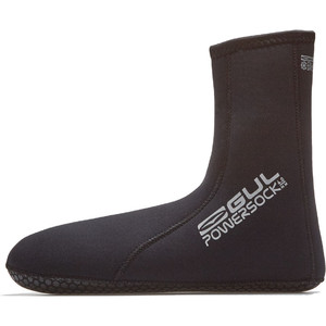 2020 GUL 4mm Power Sock BO1270-B8 - Black