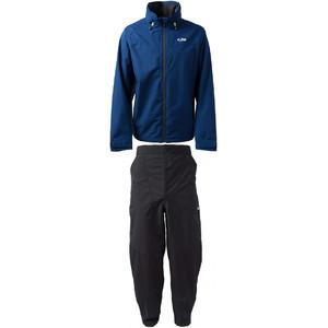 2021 Gill Mens Pilot Jacket IN81J & Trouser IN81T Combi Set Dark Blue / Graphite