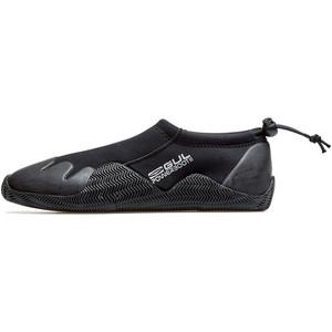 2021 Gul Power Slipper 3mm Titanium Wetsuit Shoe BO1273-B7 - Black