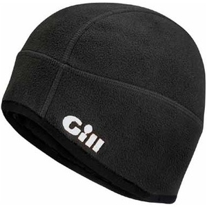 2019 Gill Windproof Fleece Hat BLACK HT8