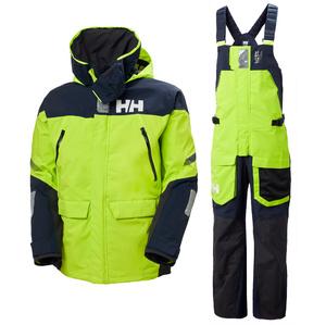 2020 Helly Hansen Skagen Veste & Pantalon Skagen Offshore Homme - Azid Lime