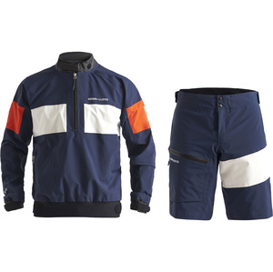 2020 Henri Lloyd Mens M-Pro 3 Layer Gore-Tex Sailing Smock & Shorts Combi Set - Navy
