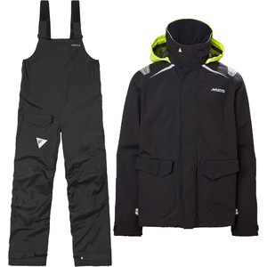 2021 Musto Mens BR1 Inshore Sailing Jacket & Core Trouser Combi Set - Black