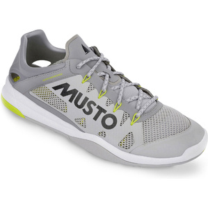 2020 Musto Dynamic Pro Ii Adatta Scarpe Da Vela 82027 - Platino