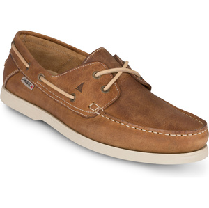 2019 Musto Mens Harbour Moccasin Shoes Tan FMFT008