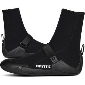 2021 Mystic Star 5mm Rund Tå Støvler 200042 - Sort