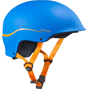 2019 Palm Shuck Halfcut Helm Blau 12131
