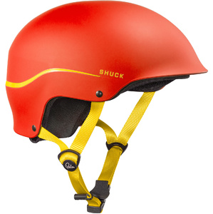2019 Palm Shuck Casque De Demi-coupe Rouge 12131