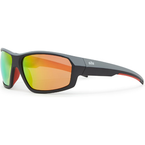 2020 Gill Race Fusion Solbriller Tango / Orange Spejl Rs26