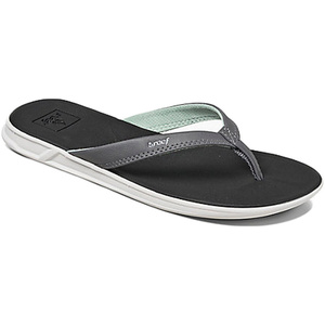 Reef Womens Rover Catch Sandals / Flip Flops BLACK / MINT R01465