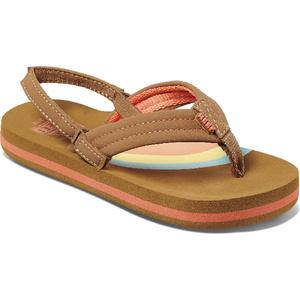 2020 Reef Toddler Little Ahi Flip Flops / Sandals RF002199 - Rainbow