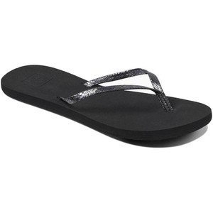 2019 Reef Sandalias / Chanclas Para Mujer Bliss Nights Black Rf0a2u1j
