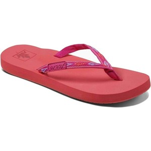 2019 Reef Sandalias / Chanclas De Jengibre Para Mujer Tropical Sunset Rf001660