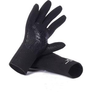 2020 Rip Curl Dawn Patrol 3mm Handschuhe Wglybm - Schwarz