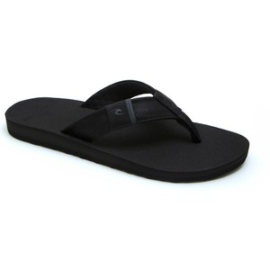 2020 Rip Curl Mænds P-low 2 Flip Flops Tctg33 - Sort / Grå