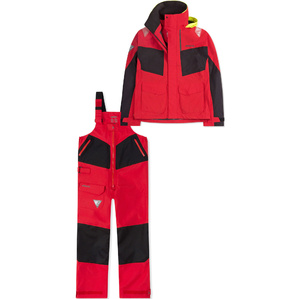 2019 Musto Womens BR2 Coastal Jacket SWJK015 & Trouser SWTR010 Combi Set Red