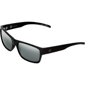 2021 Us De Argos Solbriller 823 - Gloss Sort / Grå Sølv Krom Linser
