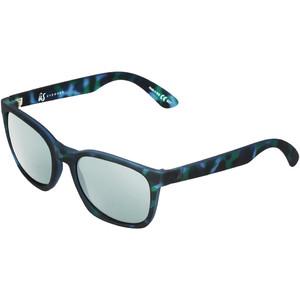 2021 Us Barys Solbriller 820 - Blå Skildpadde / Grå Sølv Krom